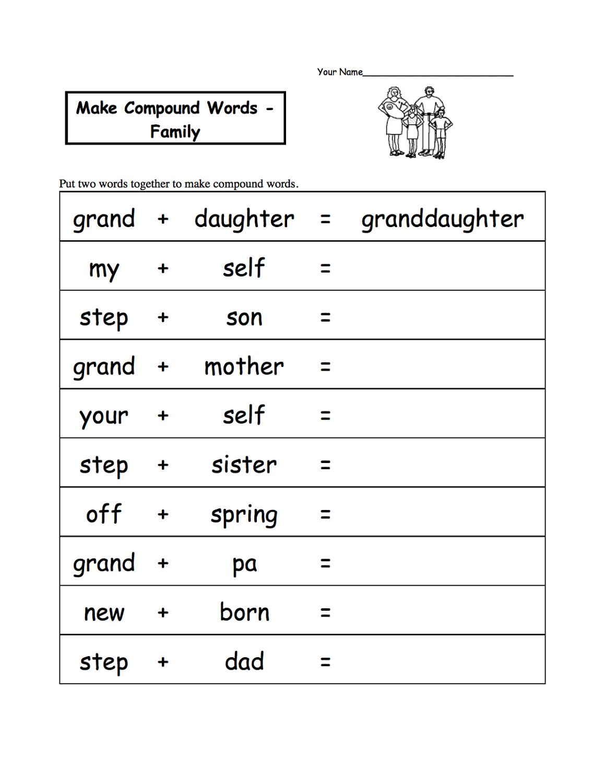 words ks1 worksheets free printable