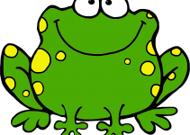 cartoon frog pictures for kids