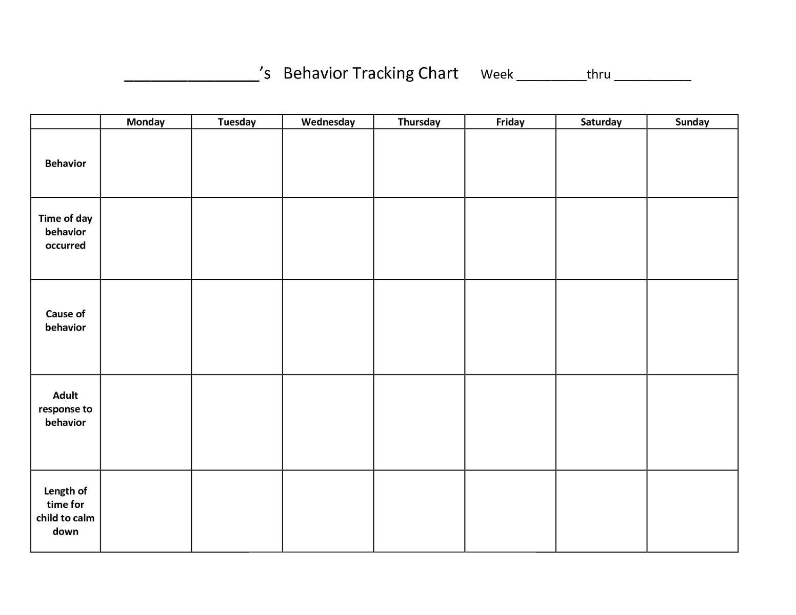 chart free printables for teachers