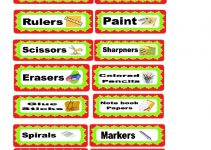 labels free printables for teachers