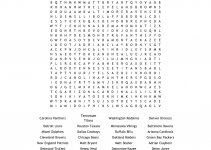 nfl word search for fun