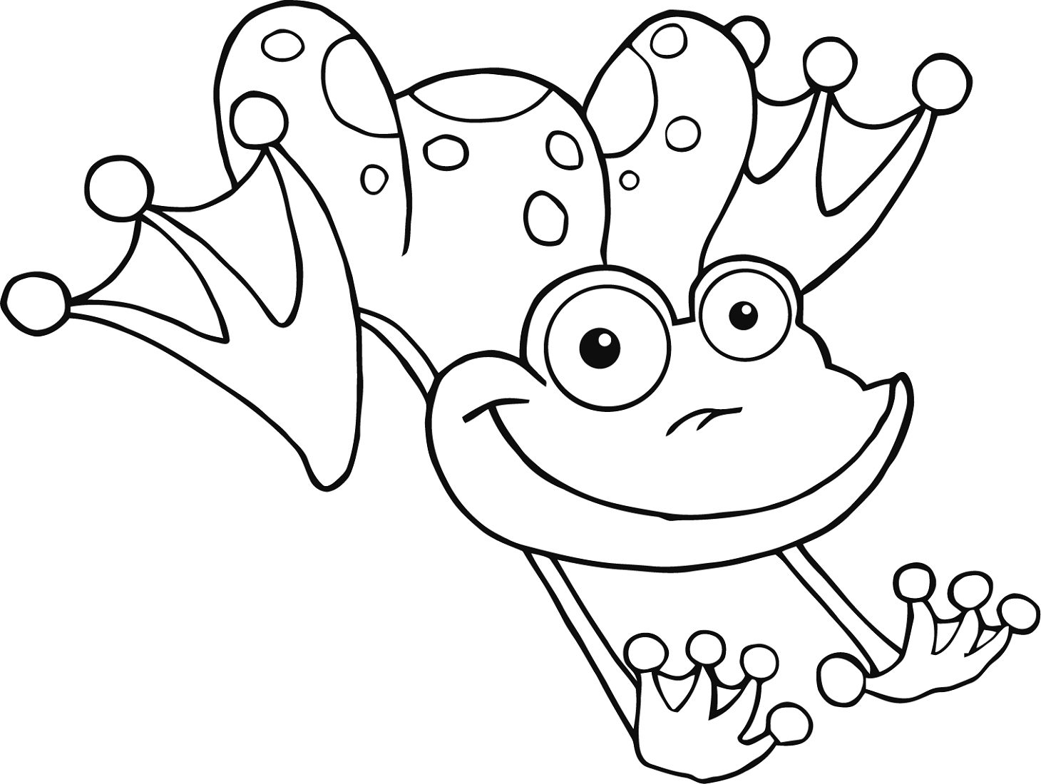 printable frog pictures for kids